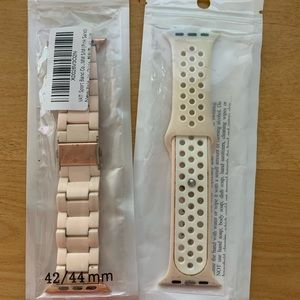 Bundle of 42 & 44mm Apple Watch Bands Size Small
